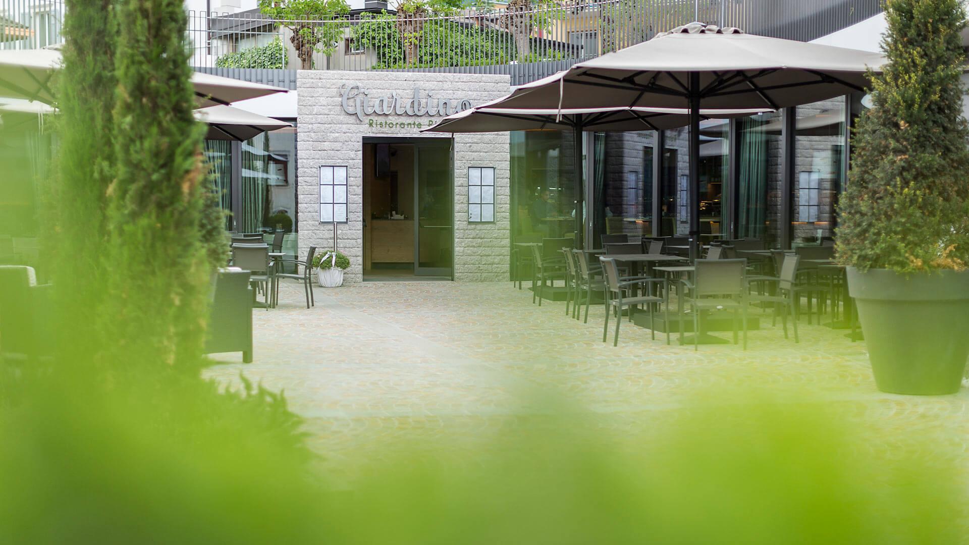 ristorante giardino ristorante a cles val di non